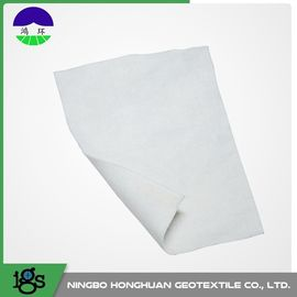 Grey PET Filament Non Woven Drainage Geotextile For Separation