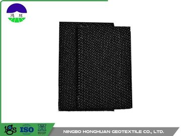 Polypropylene Monofilament Woven Geotextile Fabric Black Color 100kn / 100kn